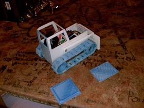 推土机模型